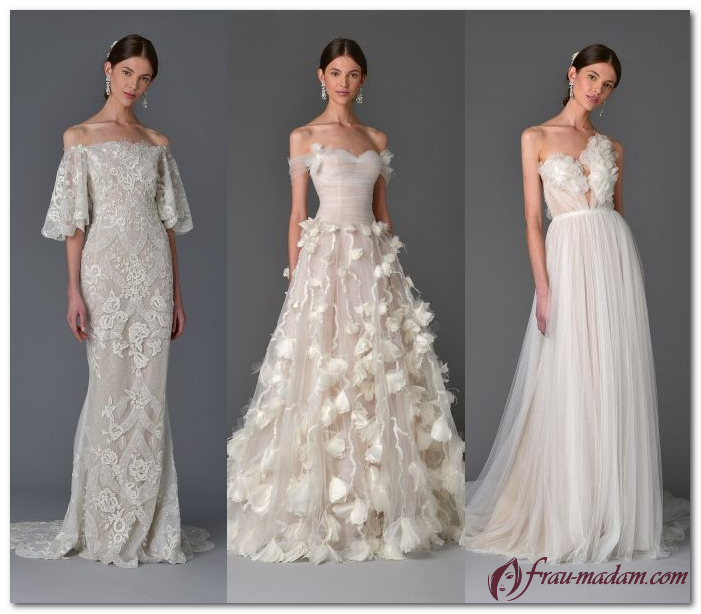 как выбрать свадебные платья 2017