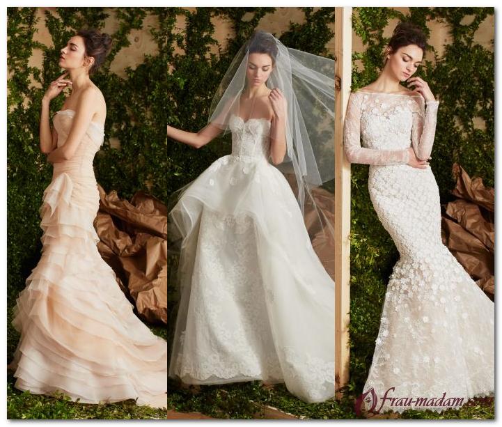 Какие свадебные платья 2017 фото модные