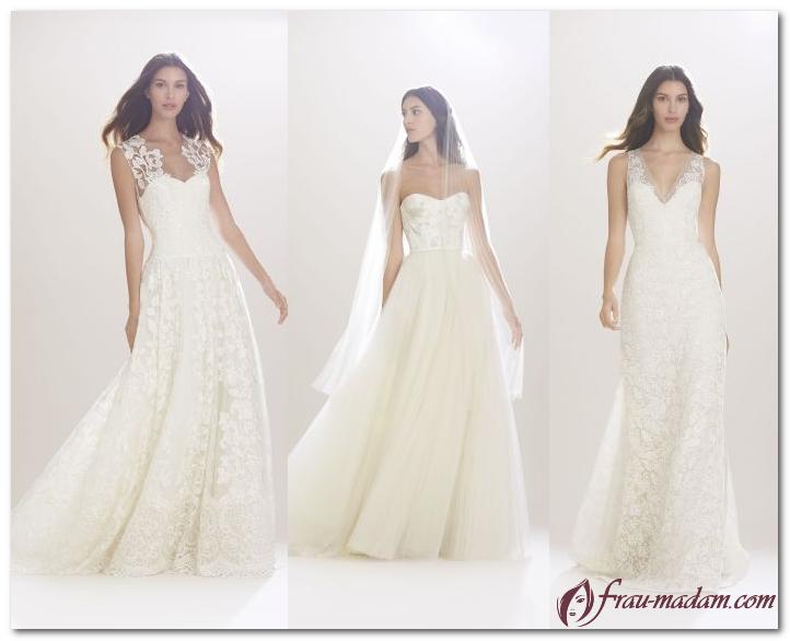 мода свадебные платья 2017 каролина херерра