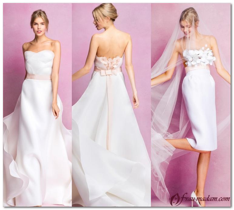 свадебные платья 2017 года каталог фото Angel Sanchez
