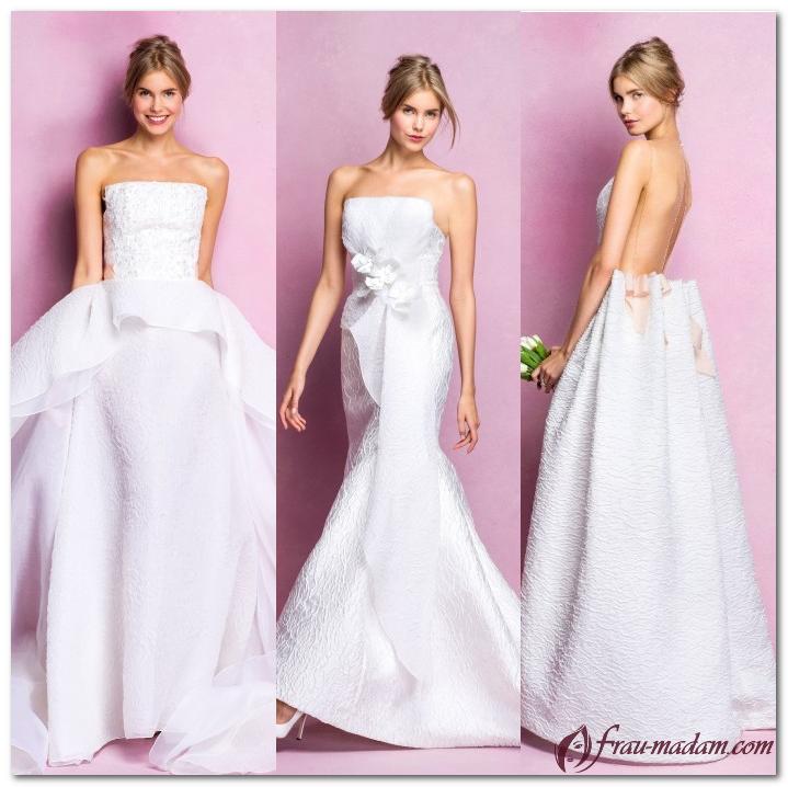 свадебные платья 2016 2017 Angel Sanchez