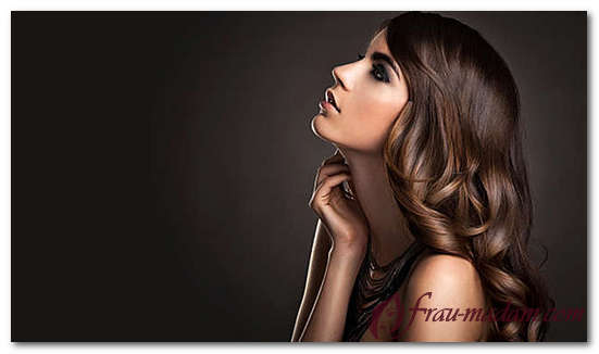 красивое окрашивание волос для брюнеток