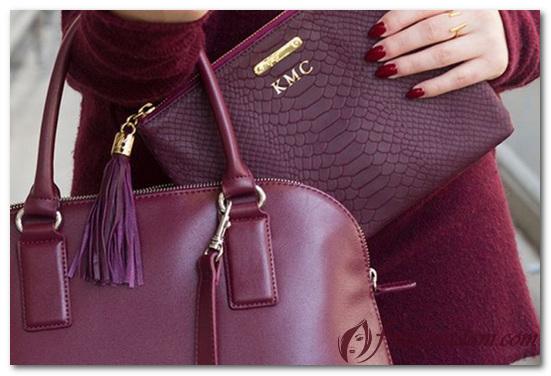 красные женские сумки фото