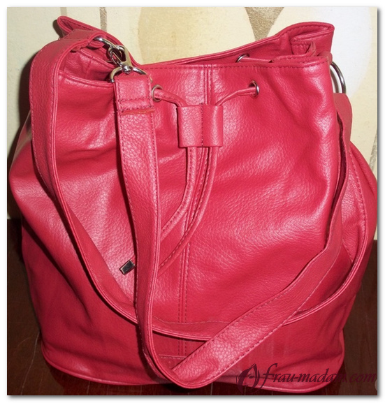красная дамская сумка пьер рико