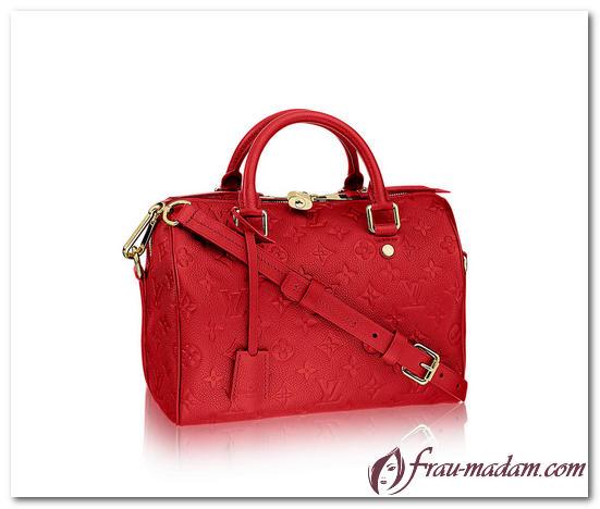сумка луи виттон красная