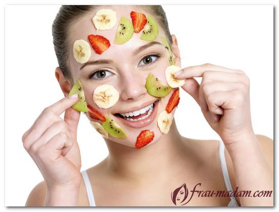 фруктовый пилинг в домашних условиях для лица