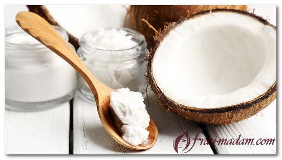 масло кокоса для лица