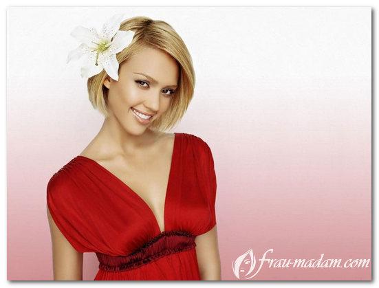 макияж к красному платью