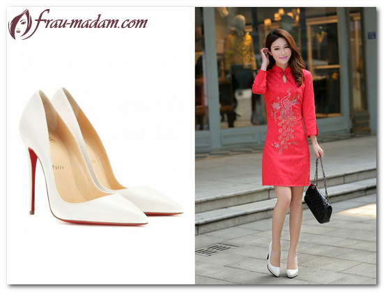 обувь под красное платье