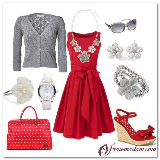 f4ec38e25a7e79e Какие украшения и бижутерия подходят под красное платье (фото)?
