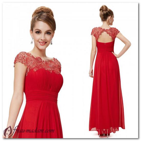 выпускные платья длинные красные