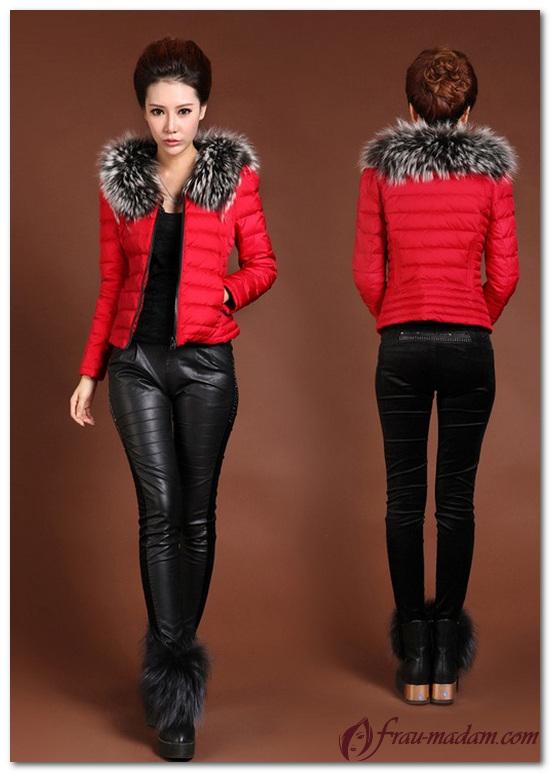 образы с красной курткой