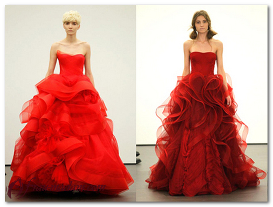 красное платье облако