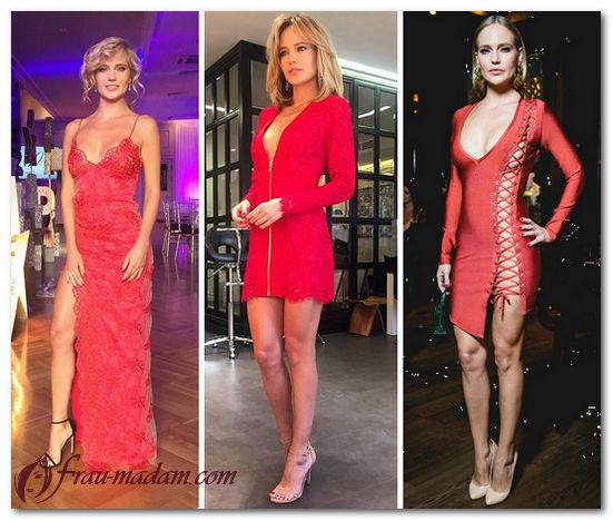 глюкоза в красном платье