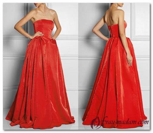 Как подобрать красное бархатное платье на особый случай?
