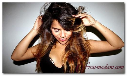 Градиентное окрашивание волос: как окрасить, чтобы низ был темный, а верх светлый