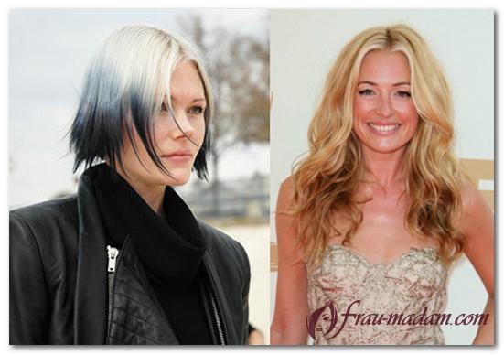 Как называется окраска волос низ темный верх светлый