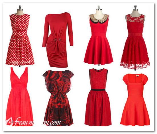 db717d0466e3bb3 Коктейльное красное платье: фото, с чем носить, новинки