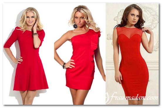 красные платья 2016 фото