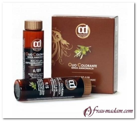 масло для окрашивания волос constant delight инструкция