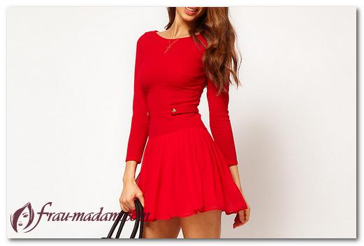 Как подобрать летнее красное платье, чтобы привлекать внимание?
