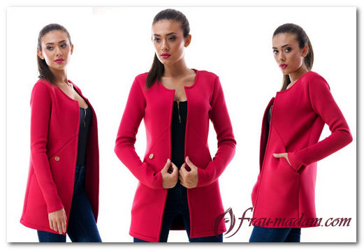 С чем носить женский красный пиджак (фото образов)?