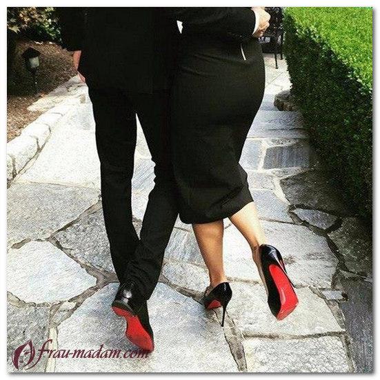 туфли с красной подошвой лабутен фото