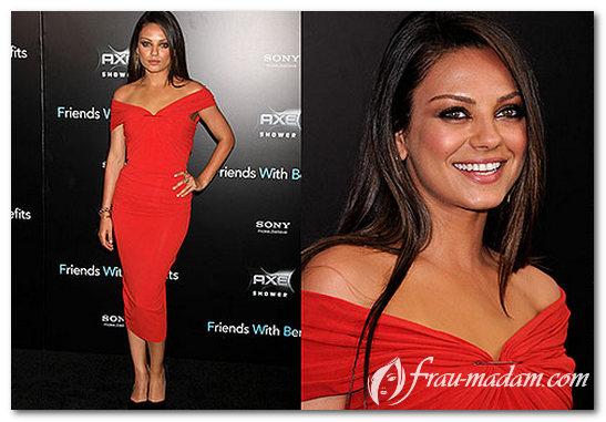 прическа под красное платье фото