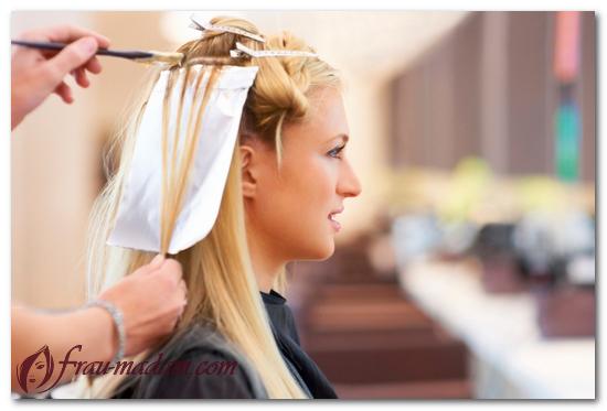 покраска волос в светлые тона фото