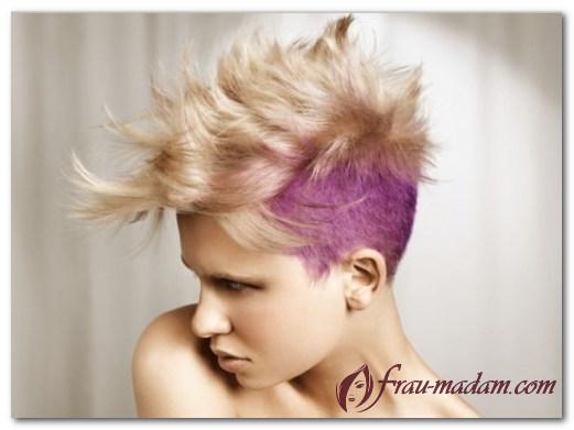Покраска волос в стиле гранж: как сделать и как это выглядит?