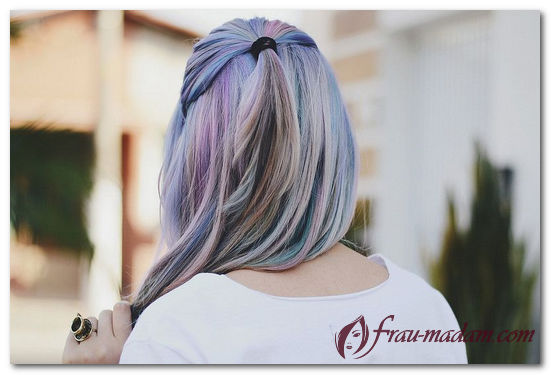 Какой оттенок волос в стиле гранж выбрать блондинке?