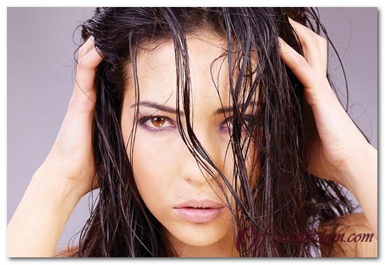 локоны на мокрые волосы на ночь