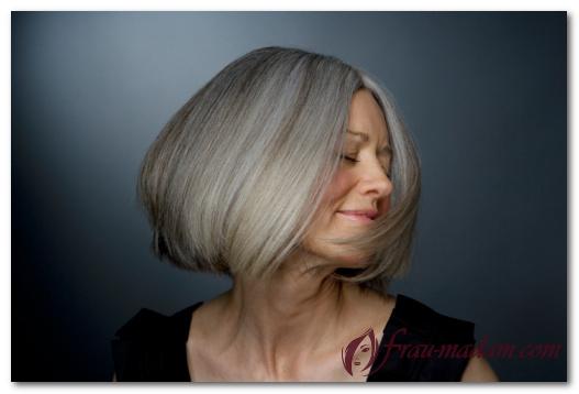Окраска волос седых натуральными красителями