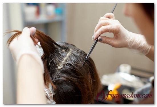 окраска волос хной и басмой седых волос