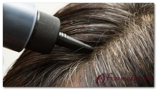 окрашивание седых волос натуральными красителями