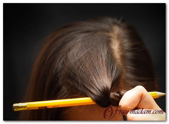Как сделать кудри на карандаш и утюжок