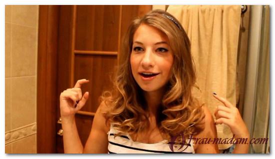 Советы как делать волнистые локоны на концах волос
