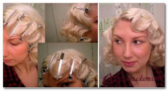 Как сделать локоны ретро на коротких волосах