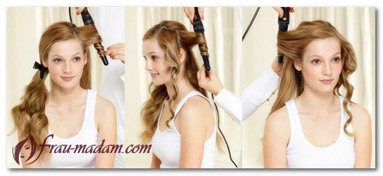Как накрутить быстрые красивые волнистые волосы