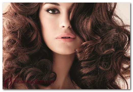 накрутить большие кудри на длинные и средние волосы
