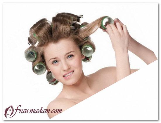 Как сделать легкие кудряшки на средние волосы на бигуди