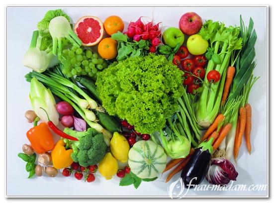 здоровая еда продукты