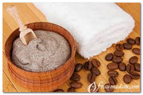 Приготовление скраба из кофе для тела