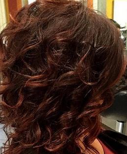 шатуш окраска на темные волосы