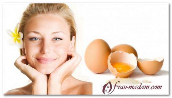 маска белковая для упругой кожи лица