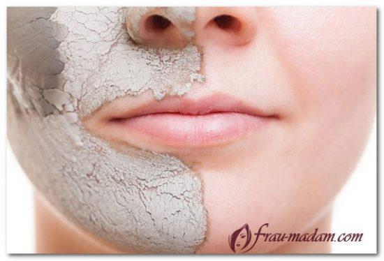 маска бодяга серый цвет лица