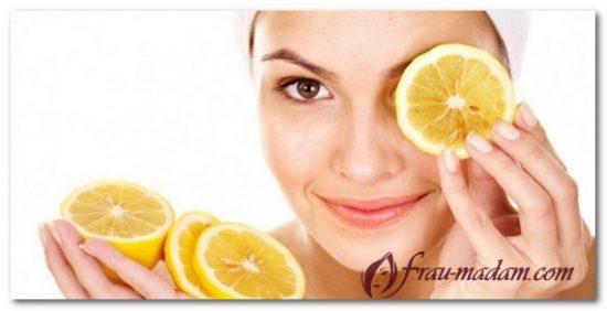 лимон отбеливание лица