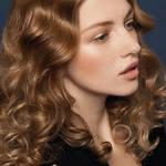 укладка длинные волосы
