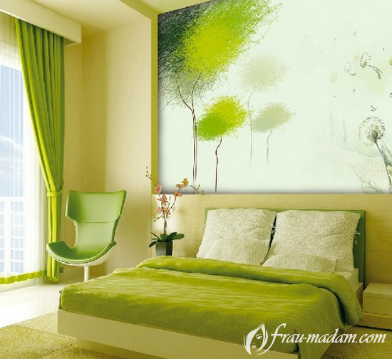 цвета в спальной комнате по фэншуй
