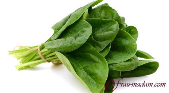 зелень блокируют всасывание жиров